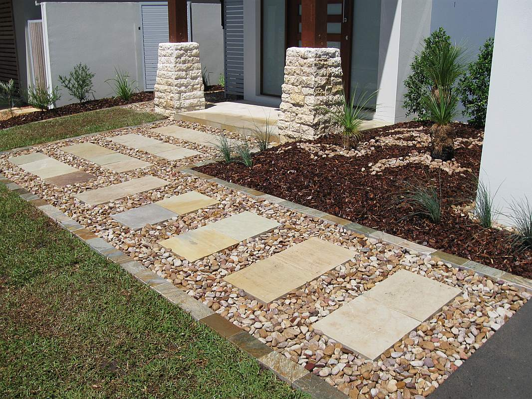 Garden Pathway Ideas Landscaping Design And Construction By Bizscapes