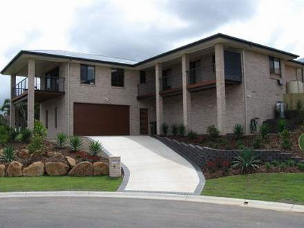 Landscaping design and construction by bizscapes for Sloping block home designs nsw
