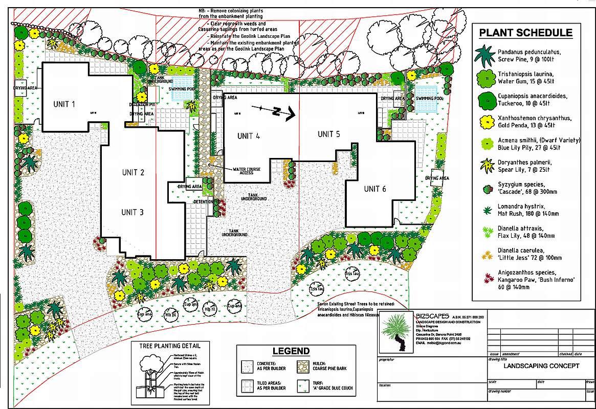 Bizscapes Landscape Designs For Council Submissions