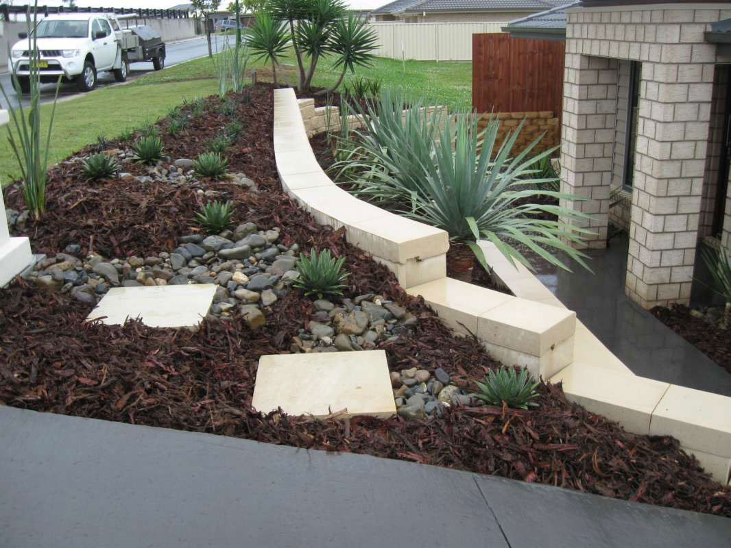 Backyard project: Next Landscaping ideas sloping blocks on Sloping Gardens Design Ideas id=38101